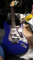 Fender Squier Affinity Strat/ purplish/blue  bundle-super-clean-ready to rock