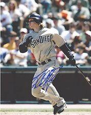 KHALIL GREENE   San Diego Padres  Autographed  8x10 color photo