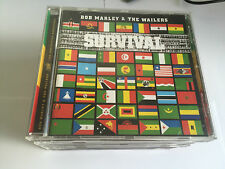 Bob Marley & The Wailers Survival CD TUFF GONG LABEL