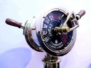 Brass Ship's Engine Order Telegraph Antique Home Vintage Decorative