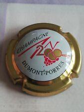 Capsule de Champagne JÉROBOAM Personnalisée An 2000 DUMONT-PORRES Ctr Or.