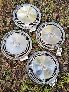 1967-78 Cadillac Eldorado Wheel Cover Hubcaps *GRADE A/A-*  Superb Set (4)