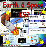 EARTH AND SPACE TOPIC KS1 KS2 Classroom Display Primary Teaching Resources on CD