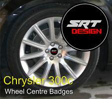 Chrysler 300c SRT Design Wheel Centre Badge Emblems