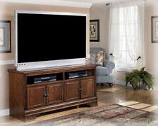 Ashley Furniture Large TV Stand Hamlyn Dark Brown W527-38 TV Stand NEW