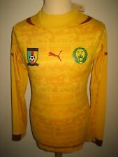 Cameroon PLAYER ISSUE away LS football shirt soccer jersey maillot foot size L