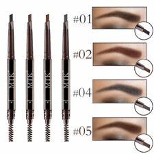 crayon sourcils 3 D eyes brow waterproof + brosse intégrée noir brun gris MTK