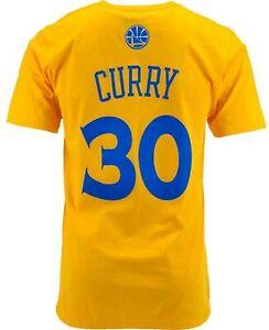 Stephen Curry Golden State Warriors Gold T-Shirt NBA Basketball Team Champs 2021