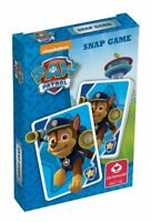 Cartamundi Paw Patrol Snap Card Game - Playing Cards for 2 Players or More
