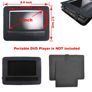 DVD Player Car Mount, WANPOOL Car Headrest Mount Holder for 7 Inch DVD Player