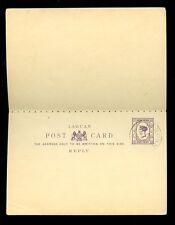 Labuan Qv Papelería respuesta Tarjeta Usada Cto 1901