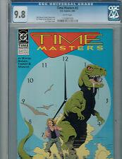 TIME MASTERS #2 CGC 9.8 DC 1990  Comic Art Thibert Dinosaur Cover: Price Drop!