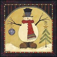 Art Print, Framed or Plaque by Lisa Hilliker - O Christmas Tree - HILL310-R