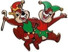 Disney Christmas Lanyard Chip & Dale Pin