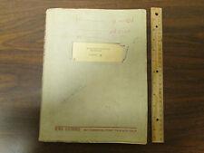 Alfred Electronics Microwave Oscillator Model 6110 Manual 1961