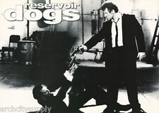 POSTER: MOVIE REPRO :RESERVOIR DOGS - 1992  - SHOOTING - FREE SHIPPING !   LW8 M
