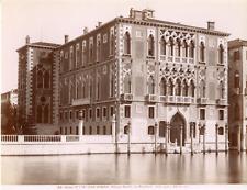 Italie, Venise, Venezia, palazzo Cavalli, ora Franchetti (stile gotico, XV secol