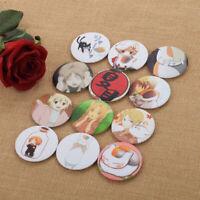 12pcs Badge Pin Brooches Collections Japan Natsume Yuujinchou Natsume Takashi
