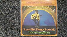 """Michel Polnareff-Love me please love me/La poupee qui fait non 7"""" single"""