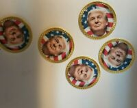 Donald Trump Golf Ball Marker w/ Magnetic Hat Clip! New!!
