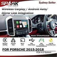 CP WIRELESS CARPLAY ANDROID AUTO MIRROR INTEGRATED FOR PORSCHE PCM 4.0 2015-18