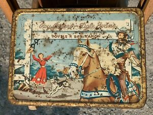 Roy Rogers and Dale Evans lunchbox (don't forget Trigger)