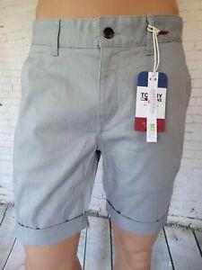 Tommy Jeans - Essential Chino Short - Lead Grey - BNWT