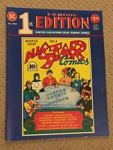 All Star Comics #3 Large Format Reprint (1st app Justice Soc of America- 1940!!)