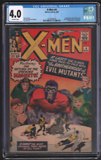 X-Men #4 3/64 Marvel CGC 4.0 1st Quicksilver Scarlet Witch Toad 042721DBCG