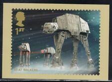 Great Britain At-At Walkers Star Wars Royal Mail Stamp Card
