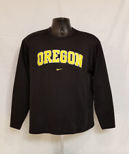 Oregon DUCKS TEAM ISSUED Nike Fit Dry LONG SLEEVE SHIRT Dance Workout Women's M