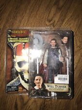 NEW Pirates of the Caribbean Series 1 Will Turner 7in Action Figure NECA Toys