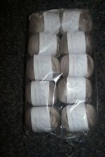 500g SUBLIME sirdar EGYPTIAN COTTON crochet WOOL YARN -354 SMUDGE taupe brown DK