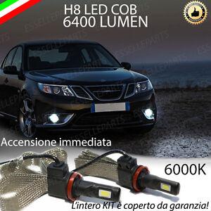 KIT FULL LED SAAB 9-3 X LAMPADE H8 FENDINEBBIA CANBUS 6400L 6000K