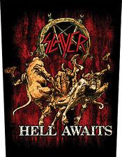 SLAYER - Hell awaits - Rückenaufnäher Backpatch