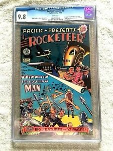 Pacific Presents #1 Oct 1982 CGC 9.8  white pages FREE Reader copy extra Fine