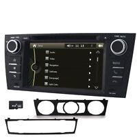 "BMW E90 E91 Stereo Head Unit 7"" Car DVD CD Player GPS Sat-Nav Radio USB SD RDS"