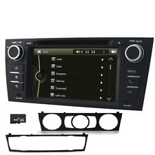 UK 1 DIN Car GPS Navigation DVD Player RDS Radio Stereo for BMW E90 E91 E92 E93