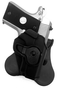 TAGUA ROTATING KYDEX PADDLE HOLSTER for COLT MUSTANG 380 and POCKETLITE