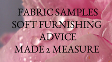 Sample /Advice on any product fabrics cushions covers inserts wallpaper colours