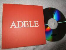 Adele – Chasing Pavements  Label: XL Recordings  Promo CD Single