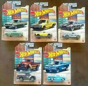 2021 HOT WHEELS HOT Pickup Series - COMPLETE SET OF 5 Series 3 - New