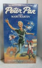 Peter Pan VHS Mary Martin  *NEW/SEALED* FAST SHIPPER