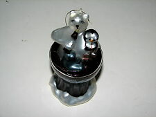 Members Only Coca Cola Glass Blown Christmas Ornament Polar Bear Seal Penguin 6""