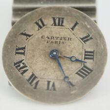 Vintage CARTIER Zifferblatt 1910-1930 Zeiger und Stundenrad - Super Rare! 18,5mm
