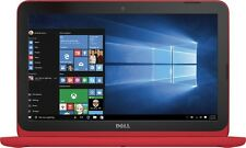 "Dell Inspiron 11.6"" Laptop Intel Celeron 2GB 32GB SSD Red"