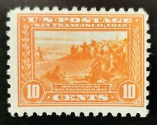 Mint Stamp, # 404 10c 1915 Discovery of San Francisco Bay. Unused, Never Hinged