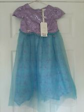 Disney Boutique Ariel Shimmer Dress Party Outfit Little Mermaid Costume 5-6 BNWT