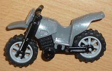 Lego Indiana Jones 1 Crossmotorrad in grau