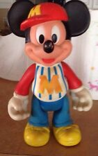 Walt Disney Productions Mickey Mouse Rubber Doll